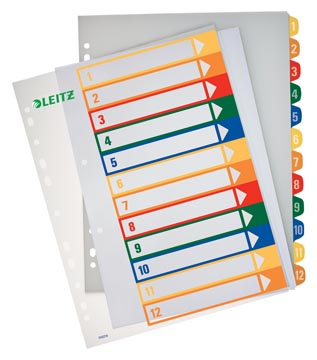Esselte PC printbare Project Indexen 12 tabs