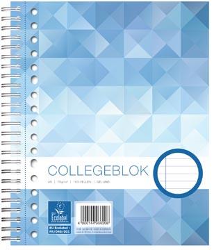 Work Collegeblok, ft A5, 17-gaats, gelijnd, 160 bladzijden