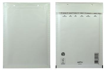 Bong Airpro luchtkussenenveloppen, ft 175 x 265 mm, met stripsluiting, doos van 100 stuks, wit