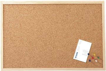 Maul kurkbord met houten frame ft 40 x 60 cm