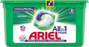 Ariel All-in-one pods original wasmiddelcapsules, 43 wasbeurten