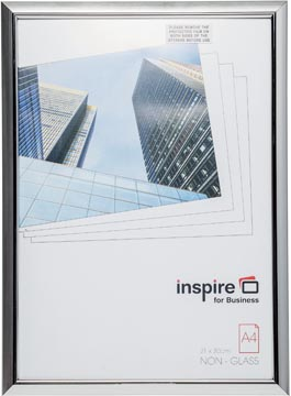 Inspire for Business fotokader Easyloader, zilver, ft A4
