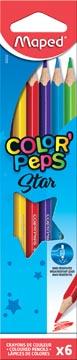 Maped kleurpotlood Color'Peps, 6 potloden