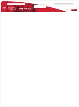 Pergamy flipchart, ft 792 x 635 mm, 30 vel, pak van 2