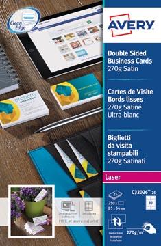 AVERY visitekaarten Quick&Clean 270 g/m²