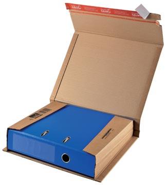 Colompac verzenddoos voor ordners CP050, ft 32 x 29 x 3,5-8 cm, bruin