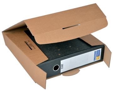 Colompac verzenddoos voor ordners CP058, ft 32,2 x 29,5 x 8 cm, bruin