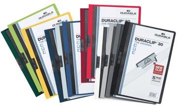 Durable klemmap Duraclip Original 30 geassorteerde kleuren