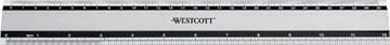 Westcott metalen lat 30 cm