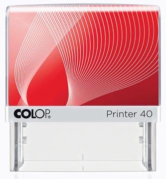 Colop stempel met voucher systeem Printer Printer 40, max. 6 regels, ft 59 x 23 mm