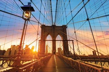 Fotokader Brooklyn Bridge, ft 65 x 98 cm