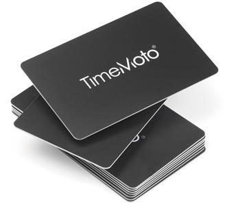 Safescan RFID badges voor tijdsregistratiesystemen TimeMoto, pak van 25 stuks
