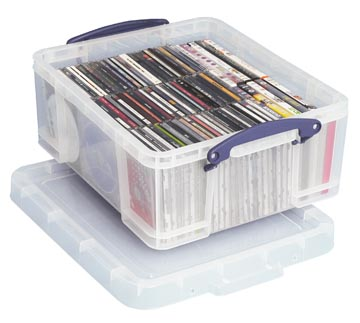 Really Useful Box opbergdoos 18 liter, transparant